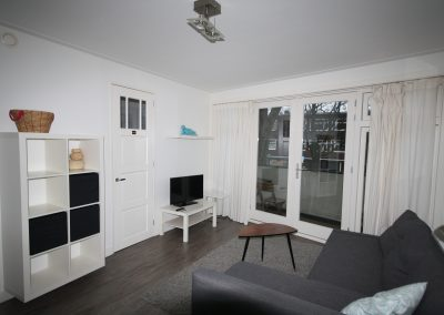 Living room in furnished shortstay apartment utrecht