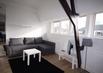 living room in shortstay apartment in Utrecht by IM Home Rentals, serviced apartment