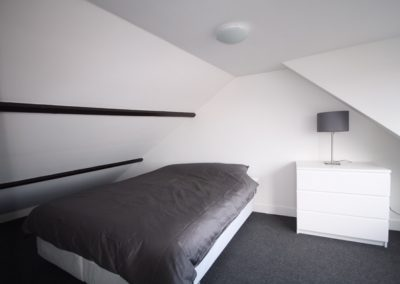 bedroom shortstay apartment utrecht